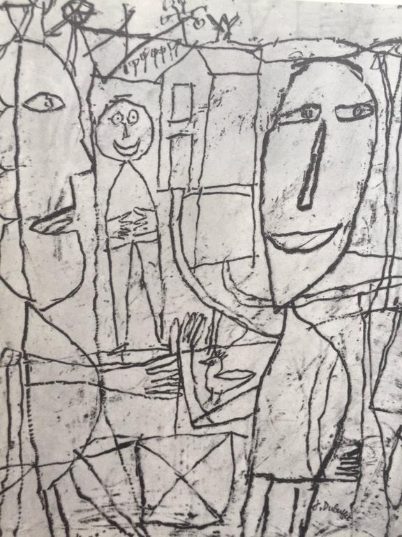 Drawings of Jean Dubuffet 1st Edition, 1960 For Sale 1