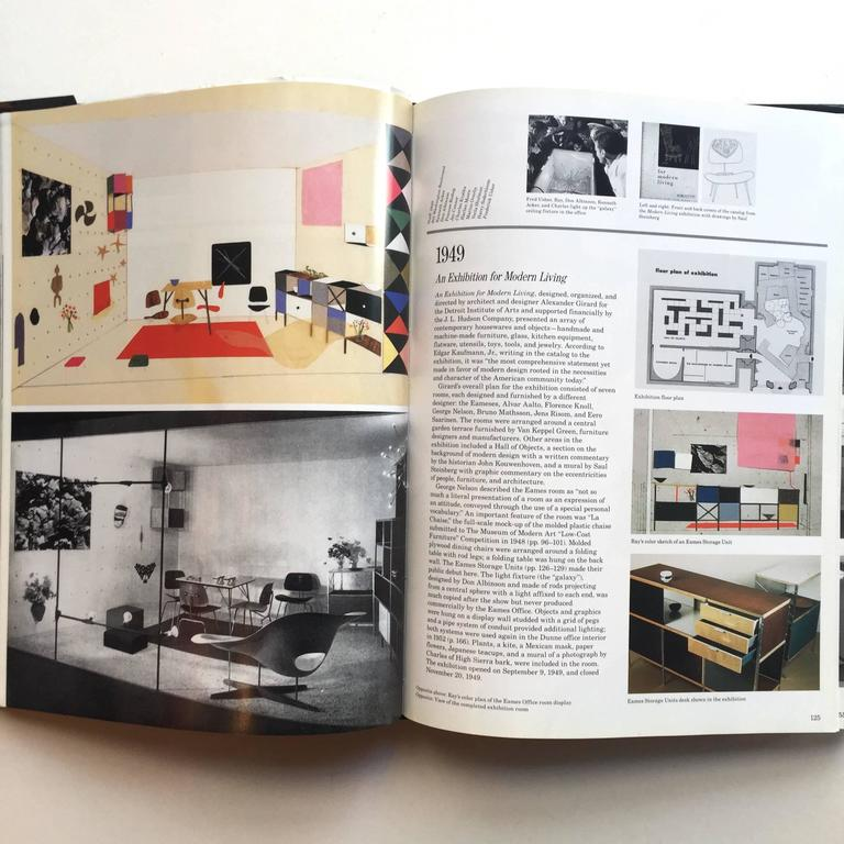 First edition, third printing, published by Harry N. Abrams, 1994  From a partnership that started with modest beginnings exploring the uses of heat-formed plywood for furniture and medical apparatus, Charles and Ray Eames built a 20th century
