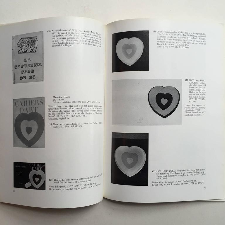 Italian  Marcel Duchamp, 66 Creative Years - First Edition 1972 For Sale