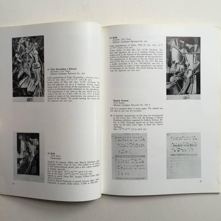 Marcel Duchamp, 66 Creative Years - First Edition 1972 In Good Condition For Sale In London, GB