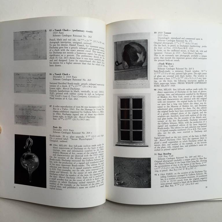 20th Century  Marcel Duchamp, 66 Creative Years - First Edition 1972 For Sale