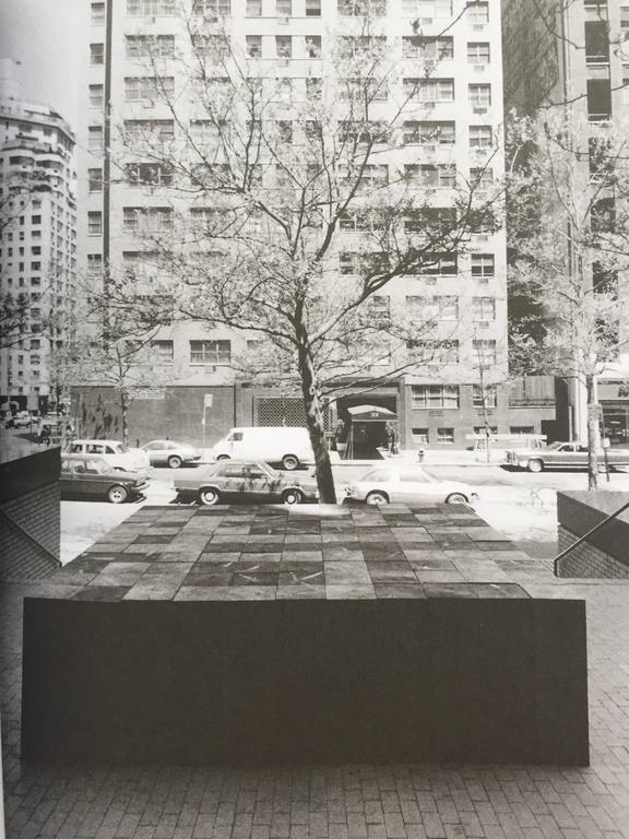 Sculpture as Place, Carl Andre For Sale 2