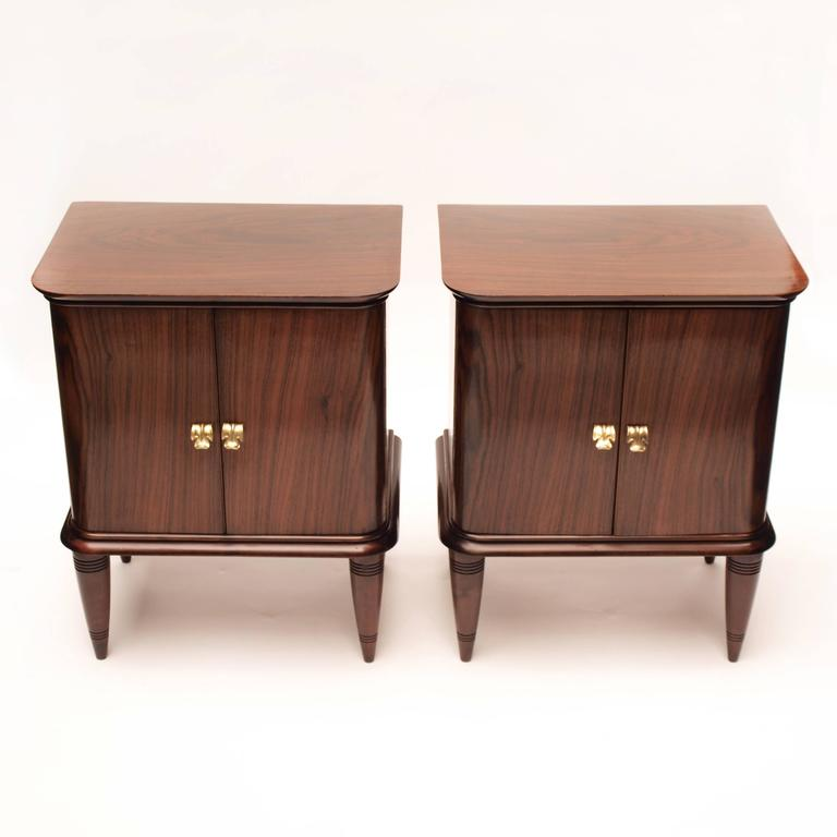 Paolo Buffa Nightstands Made by Angello Merrelli 2