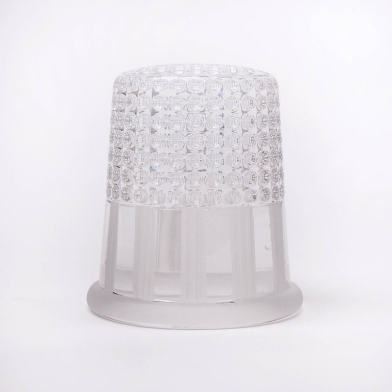 1970s Christian Dior Paperweight of a Thimble In Excellent Condition For Sale In London, GB