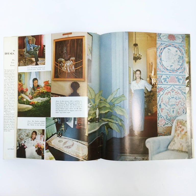 Horst P. Horst Vogue's Book of Houses, Gardens, People Book 1968 In Excellent Condition For Sale In London, GB