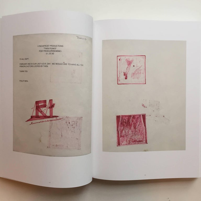 """Contemporary """"David Lynch – Works on Paper"""" Book First Edition For Sale"""
