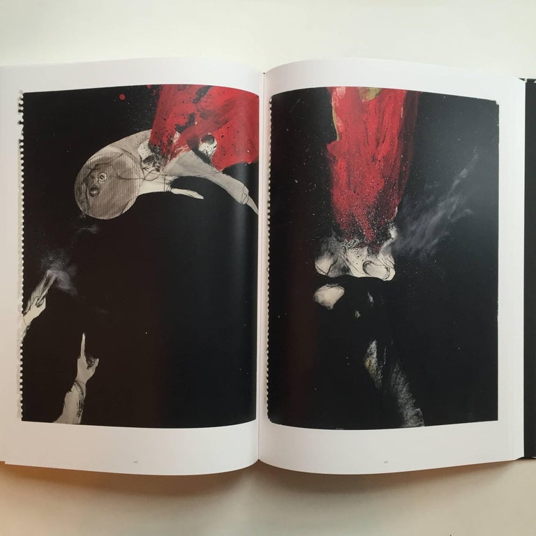 """""""David Lynch – Works on Paper"""" Book First Edition For Sale 1"""