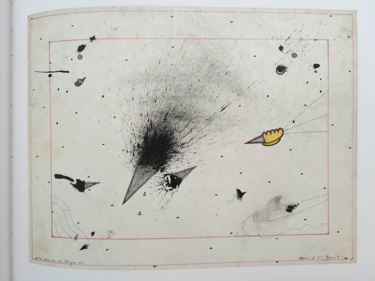 """""""David Lynch – Works on Paper"""" Book First Edition For Sale 3"""