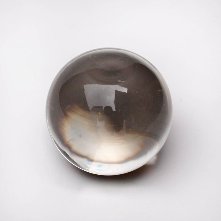fine crystal ball paperweight for sale at 1stdibs