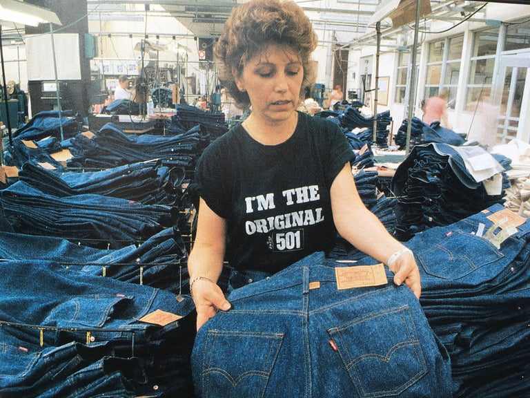 Jeans, Levi's Story 1st Edition 1990 For Sale 2