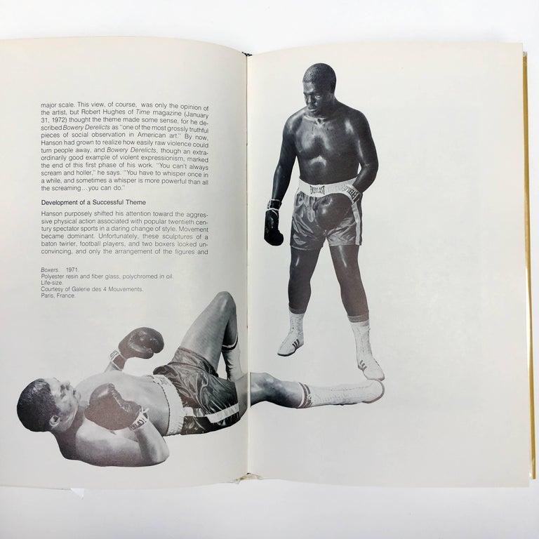 Mid-Century Modern 'Duane Hanson' Book by Martin H Bush, 1976 For Sale