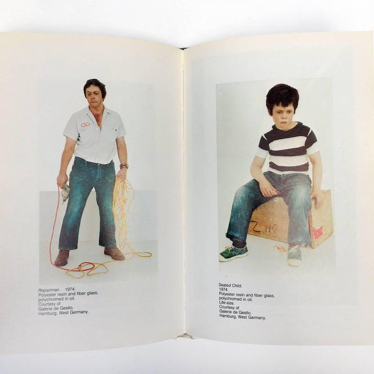 Late 20th Century 'Duane Hanson' Book by Martin H Bush, 1976 For Sale