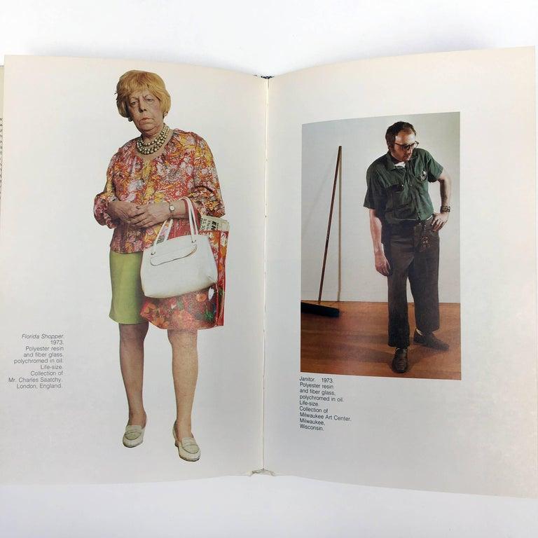 Paper 'Duane Hanson' Book by Martin H Bush, 1976 For Sale