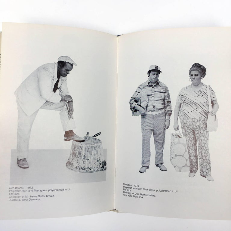 'Duane Hanson' Book by Martin H Bush, 1976 For Sale 2