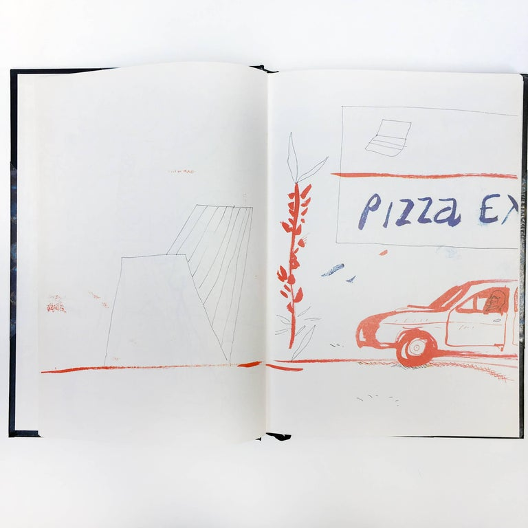 American David Hockney, Martha's Vineyard and Other Places, First Edition For Sale