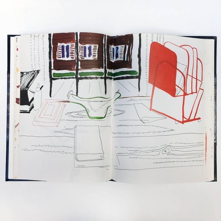 David Hockney, Martha's Vineyard and Other Places, First Edition For Sale 3