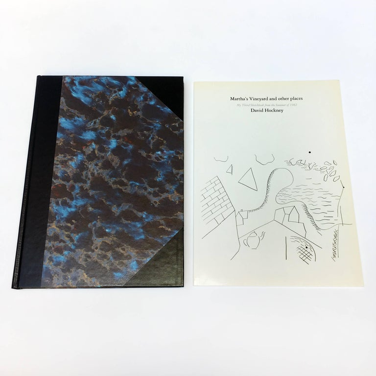 David Hockney, Martha's Vineyard and Other Places, First Edition 2