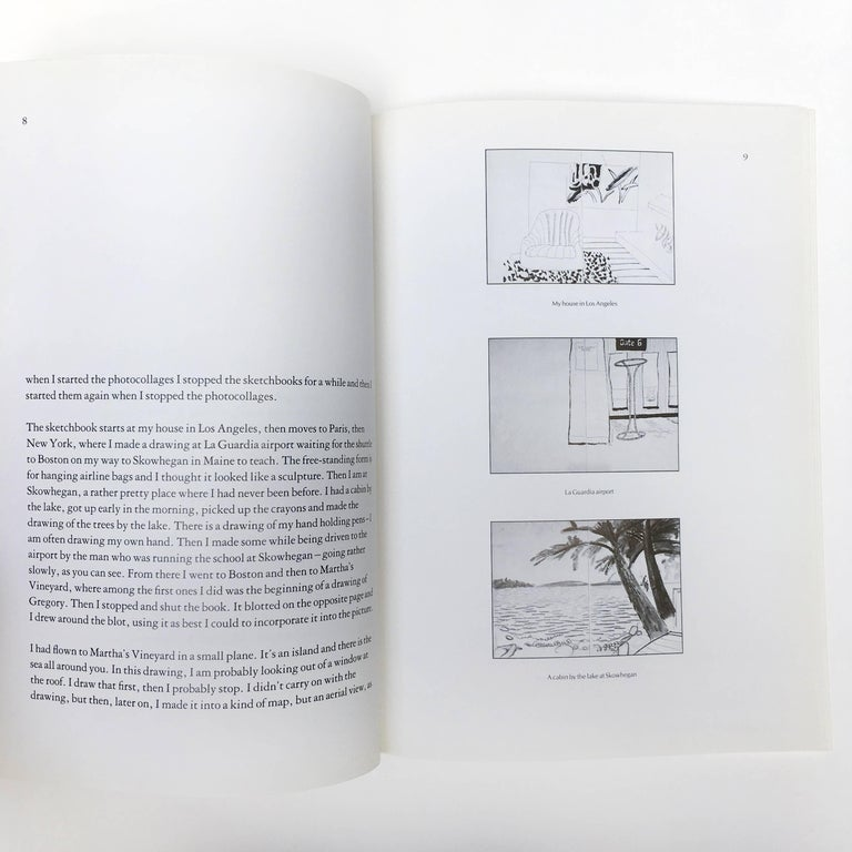 David Hockney, Martha's Vineyard and Other Places, First Edition For Sale 4
