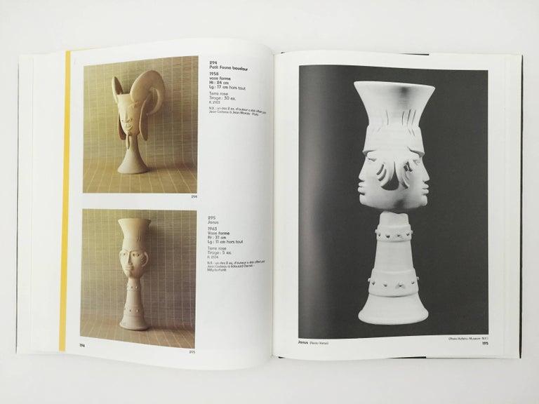 French Jean Cocteau, Poteries, Catalogue Des Ceramiques, 1957-1963 For Sale