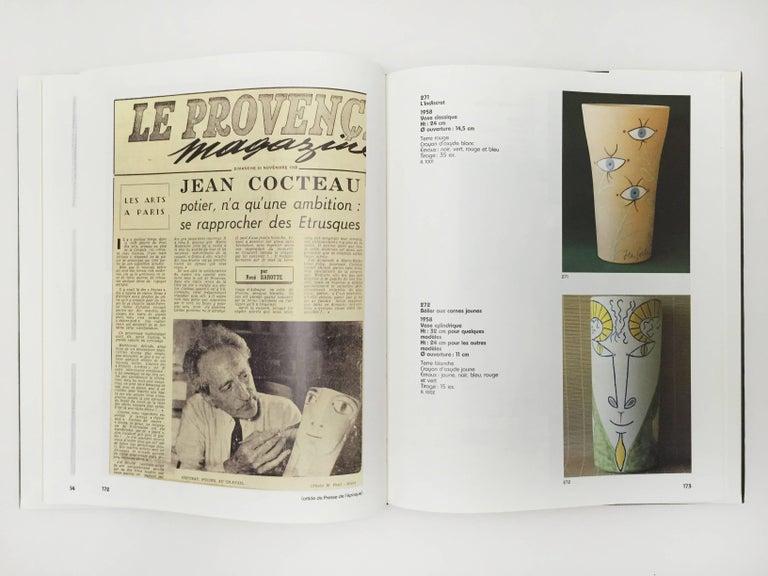 Jean Cocteau, Poteries, Catalogue Des Ceramiques, 1957-1963 In Excellent Condition For Sale In Kingsdown, Kent