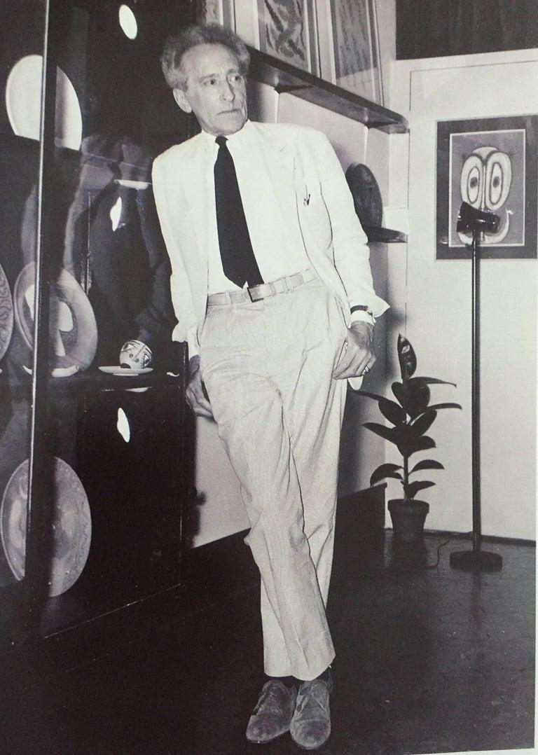 Late 20th Century Jean Cocteau, Poteries, Catalogue Des Ceramiques, 1957-1963 For Sale