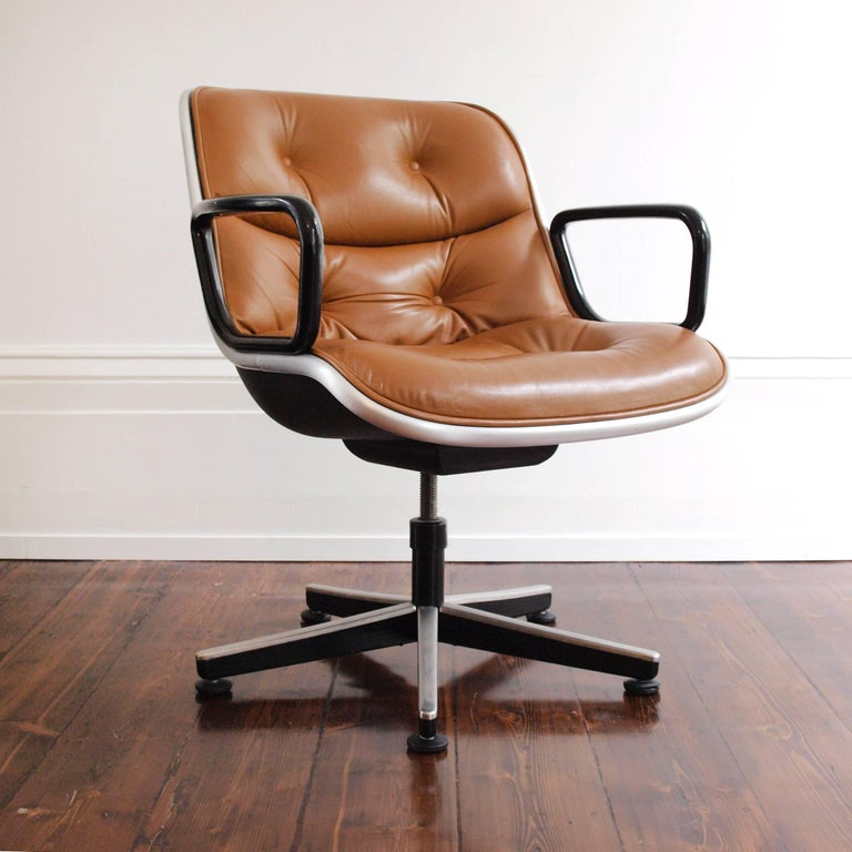 American Charles Pollock Executive Chair for Knoll International For Sale