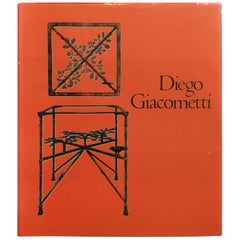 Diego Giacometti  First Edition Book 1987