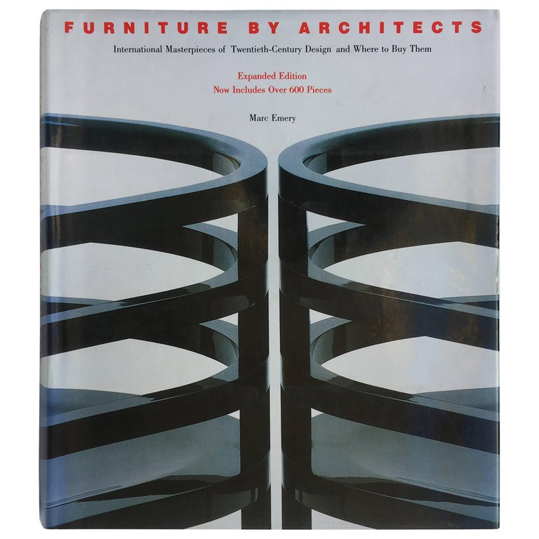 Furniture by Architects, Marc Emery, 1988 For Sale