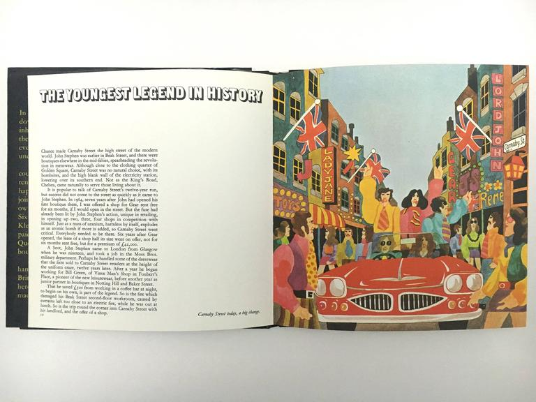 Carnaby Street, Tom Salter & Malcolm English, First Edition, 1970 For Sale 4