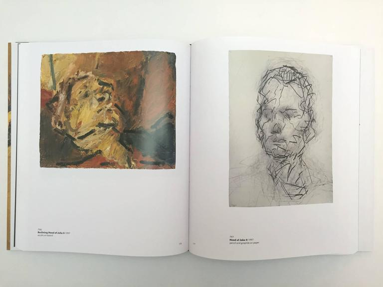 20th Century Frank Auerbach, William Feaver Signed For Sale