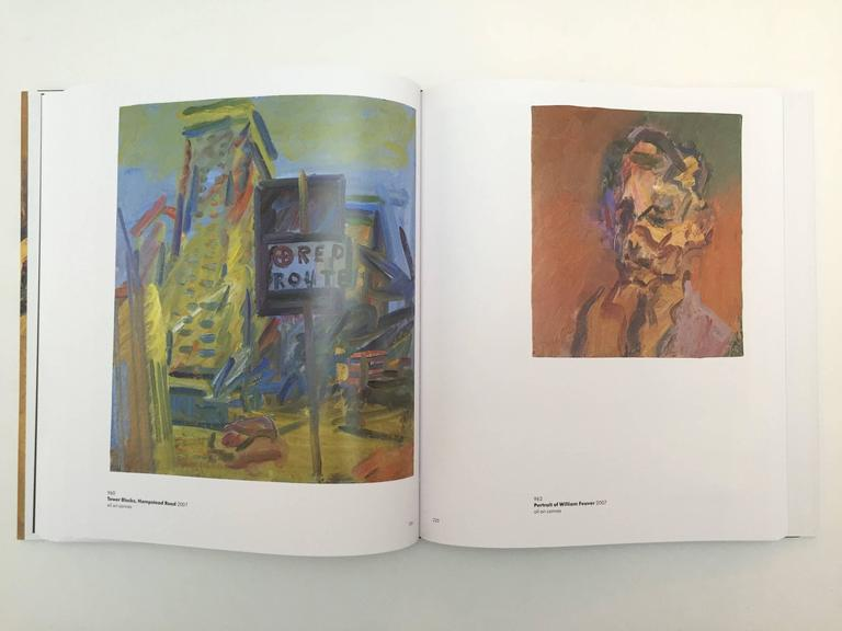 Paper Frank Auerbach, William Feaver Signed For Sale