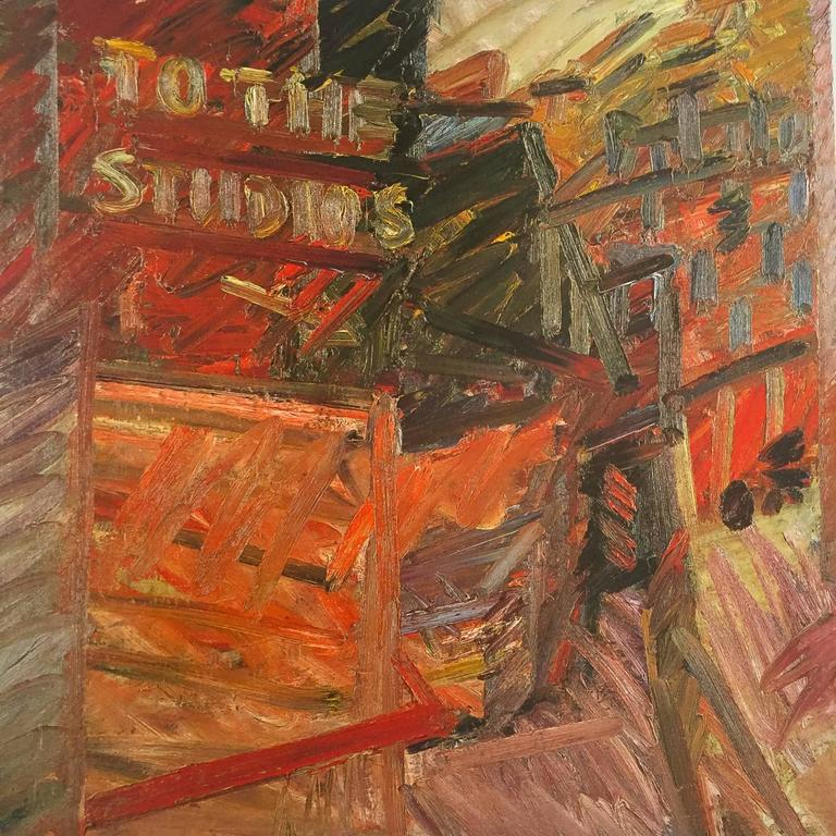Frank Auerbach, William Feaver Signed In Good Condition For Sale In London, GB