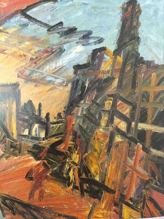 Frank Auerbach, William Feaver Signed For Sale 4