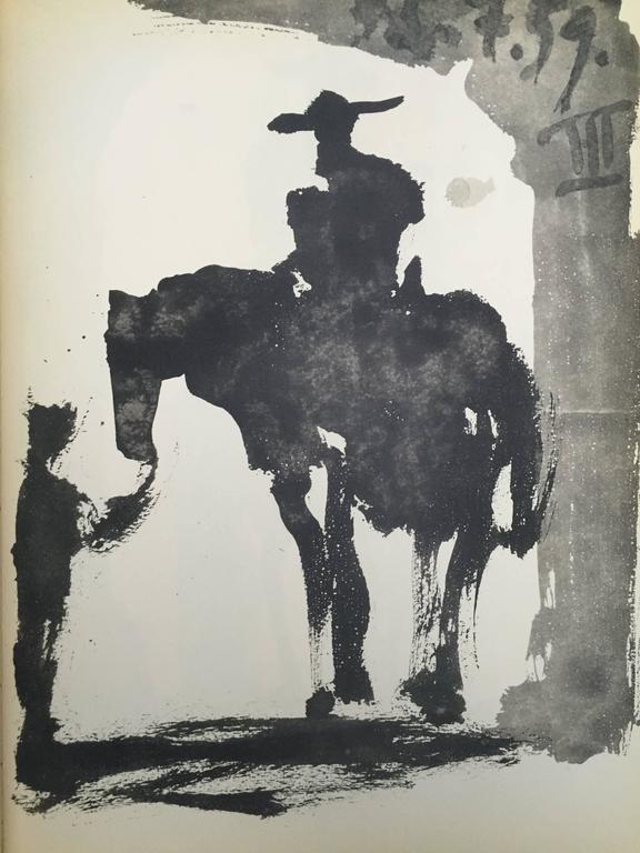 Picasso, Bulls and Bullfighters, Toros y Toreros Book 1961