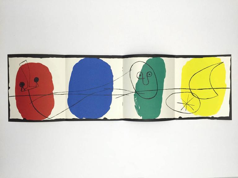 First edition, published by Pierre Matisse Gallery, 1956.  Sculpture in ceramic by Miró and Artigas.