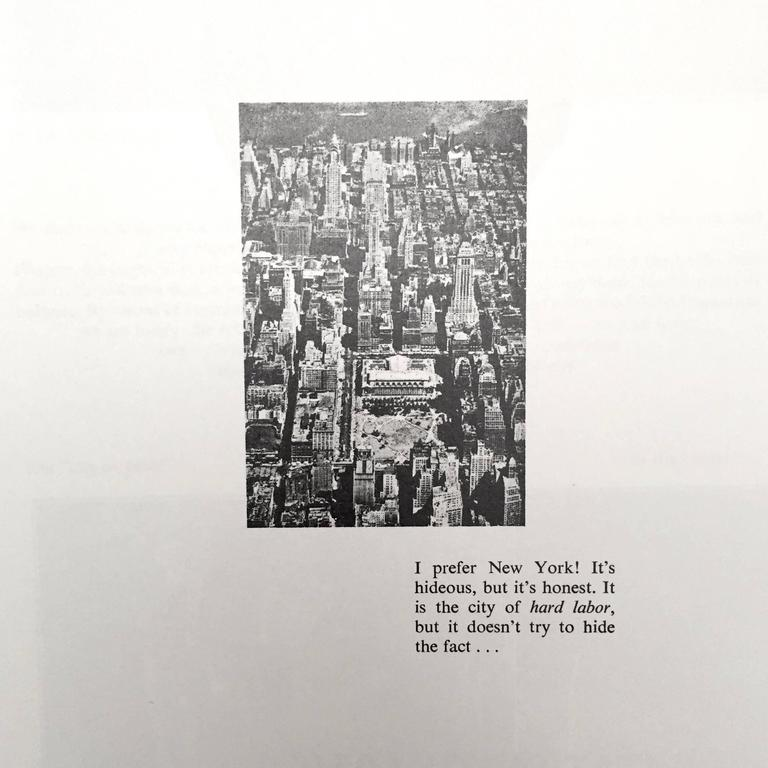 British Le Corbusier  - The Radiant City 1967 For Sale