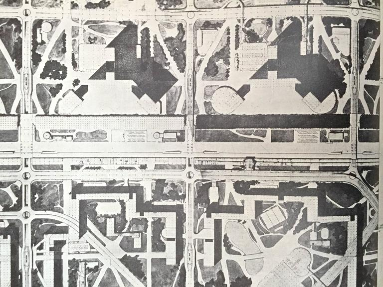 Le Corbusier  - The Radiant City 1967 For Sale 5