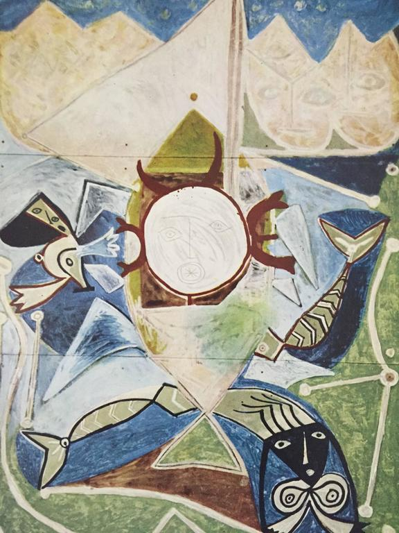 Picasso In Antibes Dor De La Souch 232 Re 1960 At 1stdibs