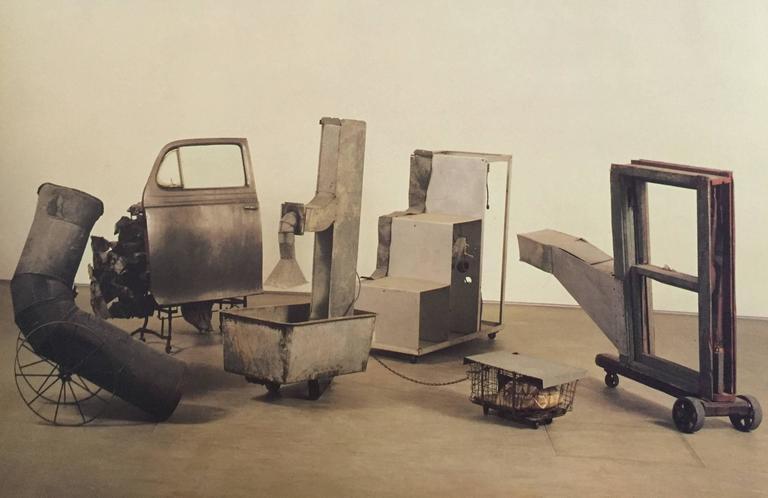 American Rauschenberg Sculpture, Julia Terrell First Edition, 1995 For Sale