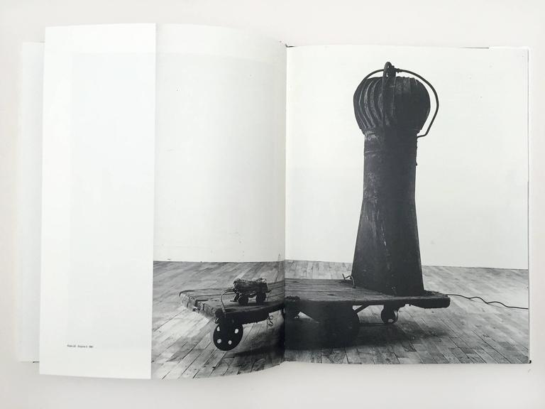Rauschenberg Sculpture, Julia Terrell First Edition, 1995 For Sale 1