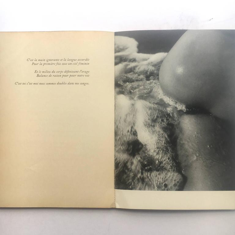 French Corps Mémorable 1957 cover by Picasso Photographs Lucien Clergue  For Sale