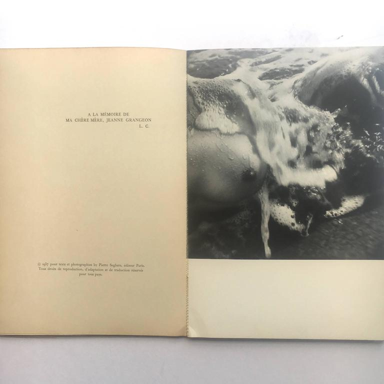 Corps Mémorable 1957 cover by Picasso Photographs Lucien Clergue  In Good Condition For Sale In London, GB