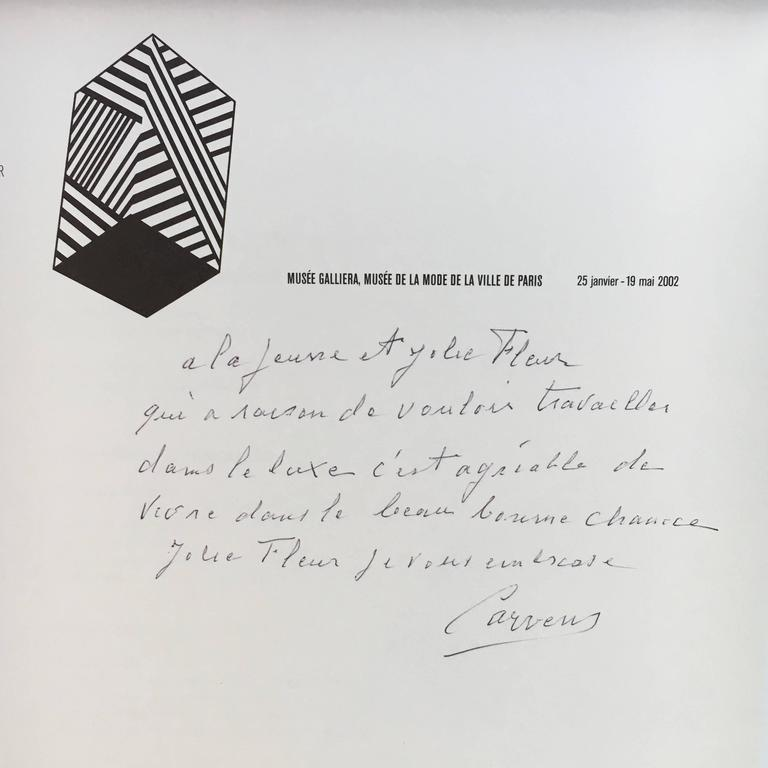 Fabulous Book on Madame Carven, Signed by Madame Carven, Grand Couturier 2