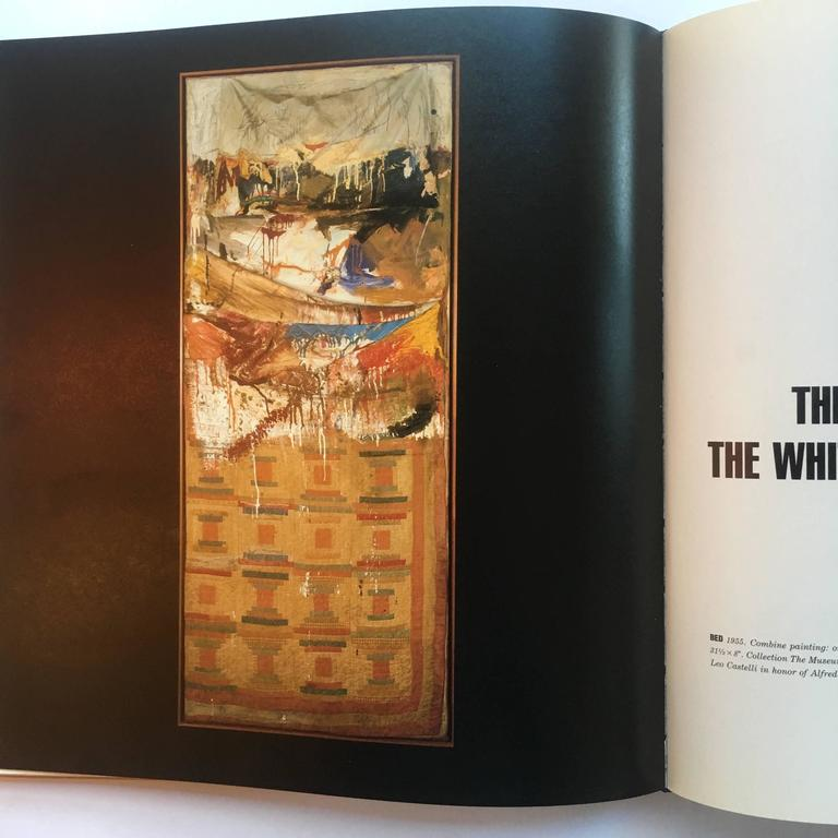 First edition, published by Harry N. Abrams, 1990.  An important book from best selling author Mary Lynn Kotz, created in collaboration with Robert Rauschenberg. This book is the complete account of the life of this iconic twentieth century