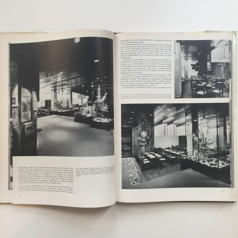 German Restaurant Architecture and Design by Max Fengler, 1971 For Sale