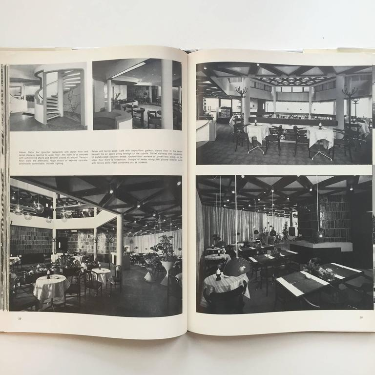 Restaurant Architecture and Design by Max Fengler, 1971 For Sale 2