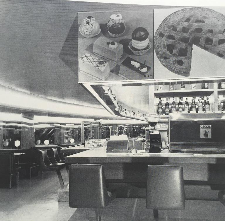 Restaurant Architecture and Design by Max Fengler, 1971 For Sale 3