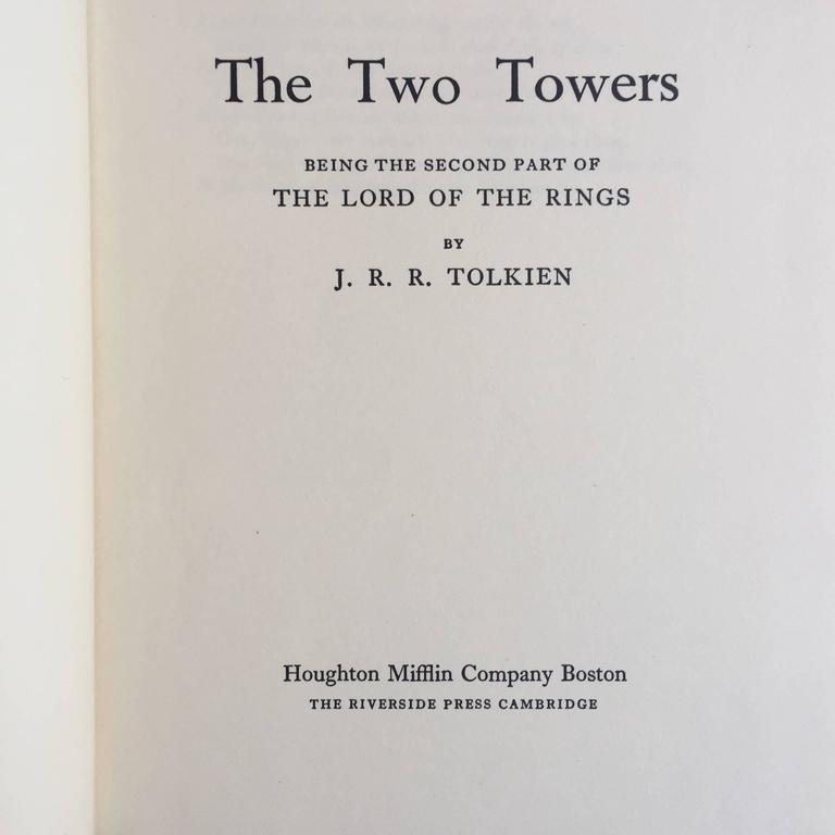 First U.S edition, published by Houghton Mifflin Company, Boston, in 1954, 1955 and 1956.