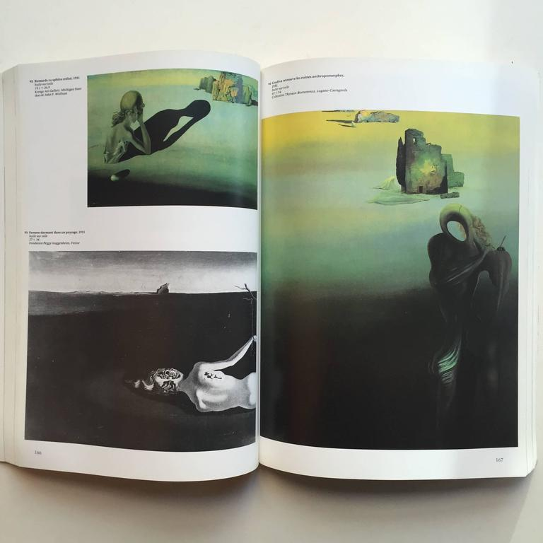 First edition, published by Centre Georges Pompidou, Musee National d'Art Moderne, 1979  Text in French  A profusely illustrated catalogue of an exhibition of works by the Spanish surrealist artist, Salvador Dali, an artist who embodies the