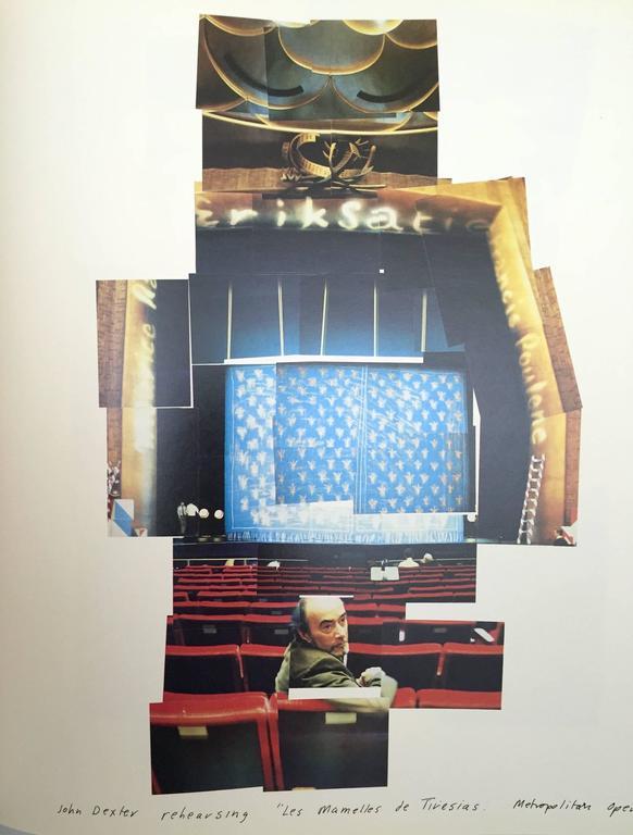 Paper David Hockney, Cameraworks, 1st Edition 1984 For Sale